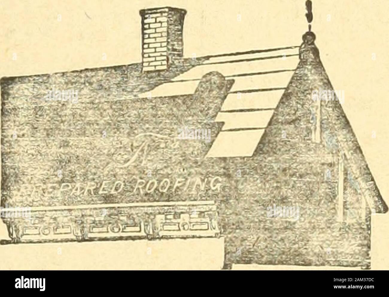 Le quincaillier (Septembre 1888-Aout 1889) . ARCHITECTS MANUFACTURIERS, ENTREPRENEURS &. MARCHANDS DE BOIS Ouvrage de Menuiserie et Fabrique de Boites dEmballage, etc. Moulin** a Scier et a Blanchir : 85 a 95 AVENUE ATWATER, Les CODVERTDRES en FEOTRE (TROTS EI»AISSJETJI£S) posees par TOWLE & MICHAUD Et peintures avee leur celebre Peinture a lepreuve du feu etde leau, sont garantis pour dix tins. Ce mode de Couver-tures augmente tous lesjours, il est considerfR: comme le plus economi- .que, le plus durable et E,spgcialement adapts anotre climat.. Tous ceux qui ontfait poser de eesToitsouqui se Stock Photo