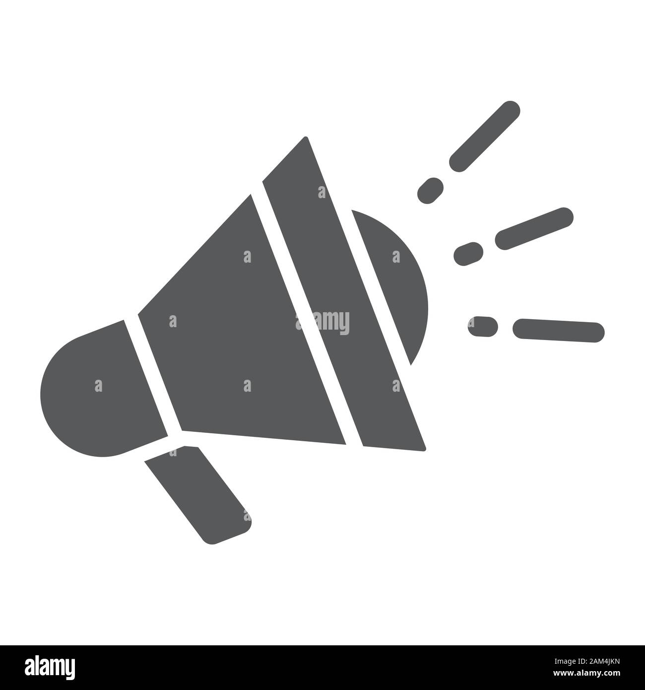 digital marketing glyph icon business and promotion megaphone sign vector graphics a solid pattern on a white background eps 10 stock vector image art alamy alamy