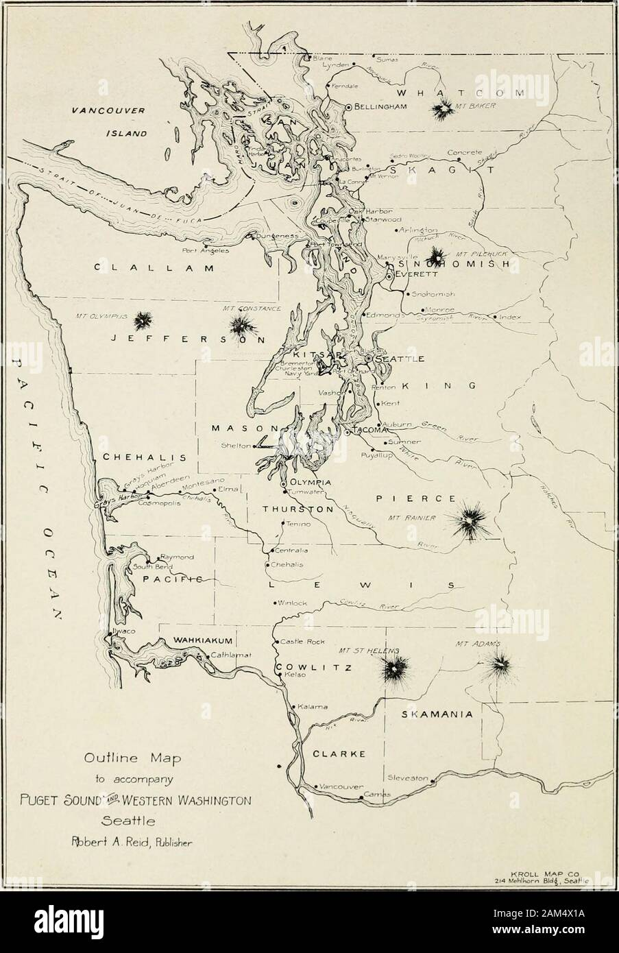 Puget Sound and western Washington; cities--towns--scenery ...