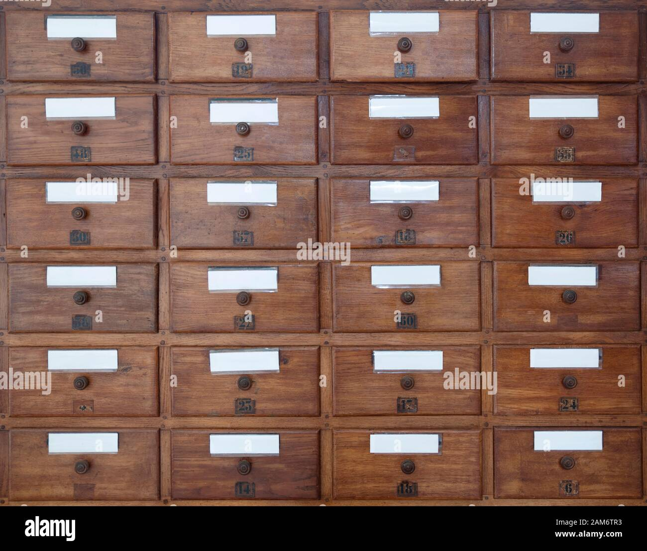 Old Medicine Cabinet With A Wooden Drawer Stock Photo Alamy