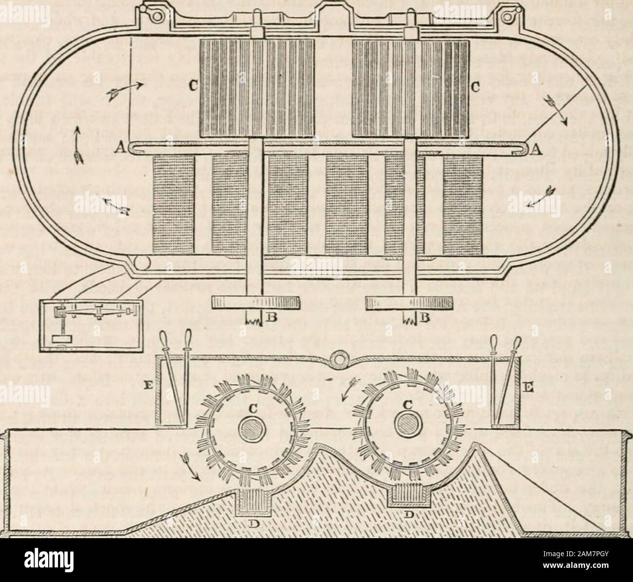 traverse engine diagram a supplement to ures dictionary of arts  manufactures  and mines  ures dictionary of arts  manufactures