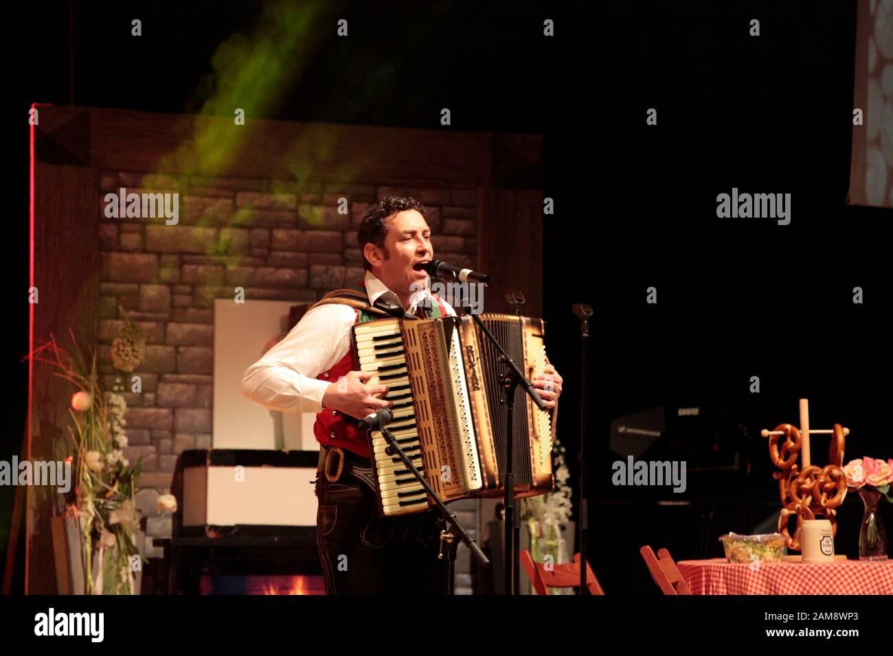 Geschwister Niederbacher bei Das Stadlfest - unterwegs 2020 präsentiert von Andy Borg in der Messehalle  Löbau am 10.1.2020 Stock Photo