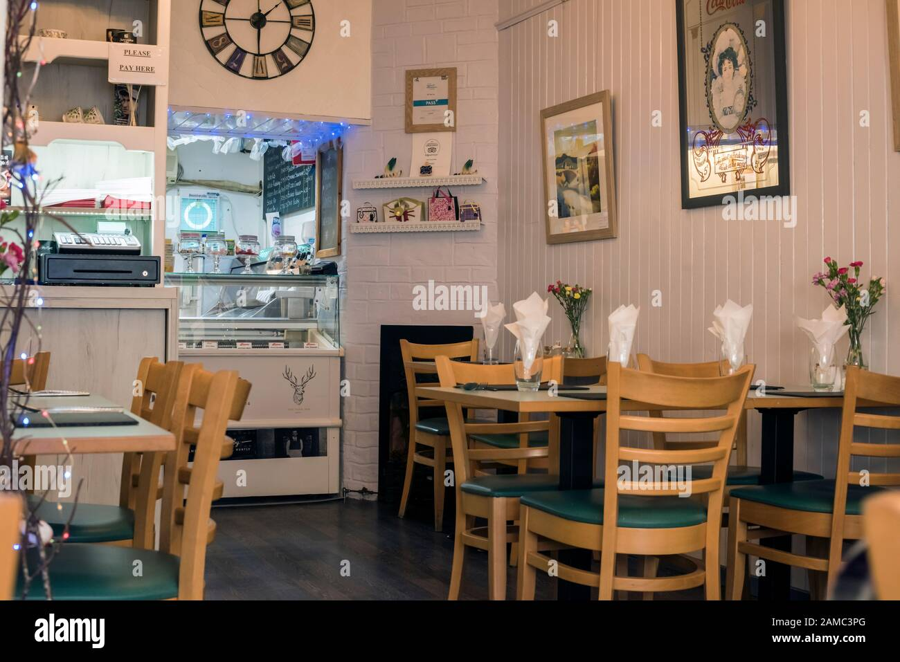 Interior Fish Chip Shop High Resolution Stock Photography And Images Alamy