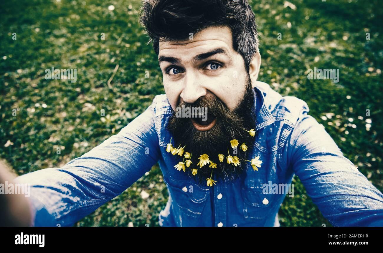 Beard selfie with guy New selfie