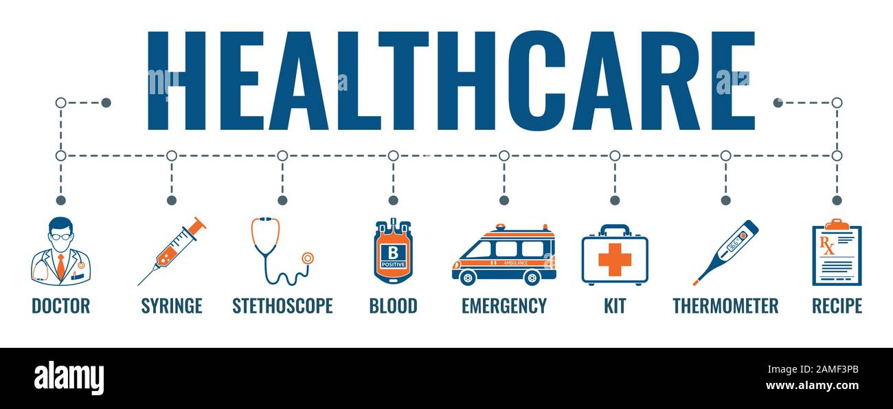 Medicine And Healthcare Banner Stock Vector Art Illustration Vector Image 339622371 Alamy