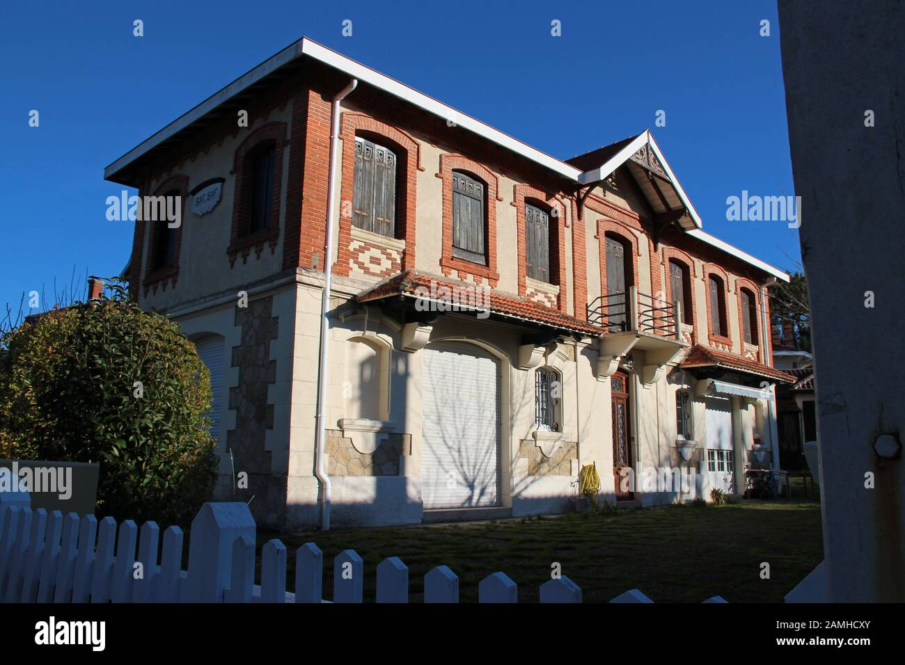 Building Villa In Arcachon France Stock Photo 339673459 Alamy