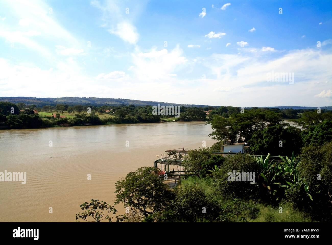 São Francisco River, Três Marias, Minas Gerais, Brazil Stock Photo