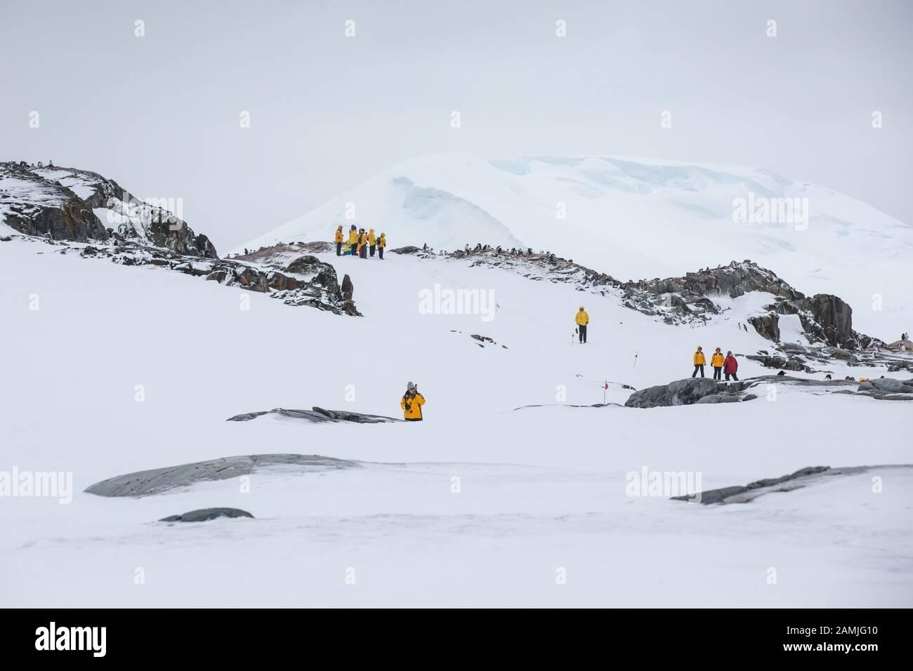 Peterman Island, Antarctic Peninsula, Antarctica Stock Photo