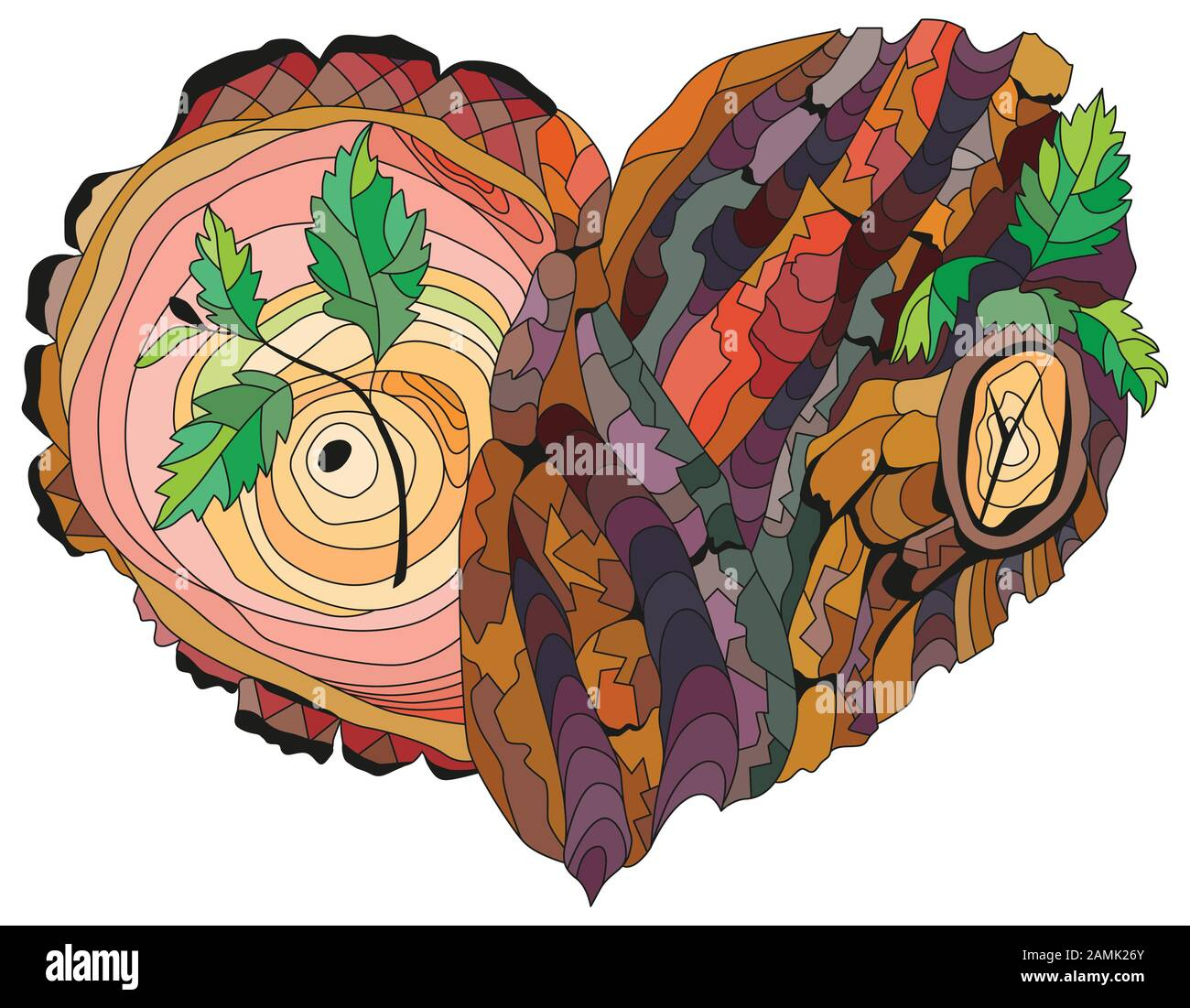 Bark Vector Vectors High Resolution Stock Photography And Images Alamy Cartoon wooden materials lumber firewood wood vector. https www alamy com vector adult coloring book textures with tree bark texture hand painted art design image339708963 html