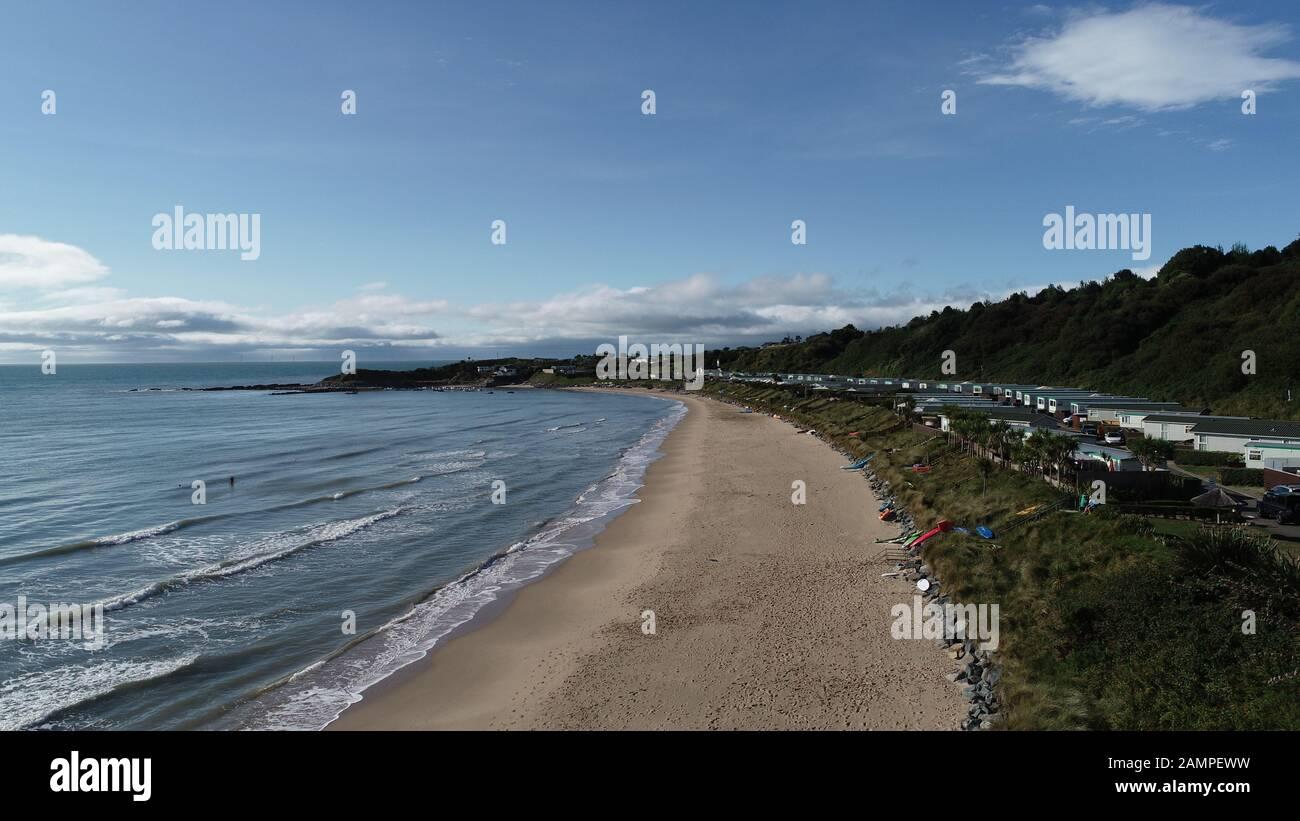 The Best Beach near Dublin - Silver Strand in Wicklow, Ireland