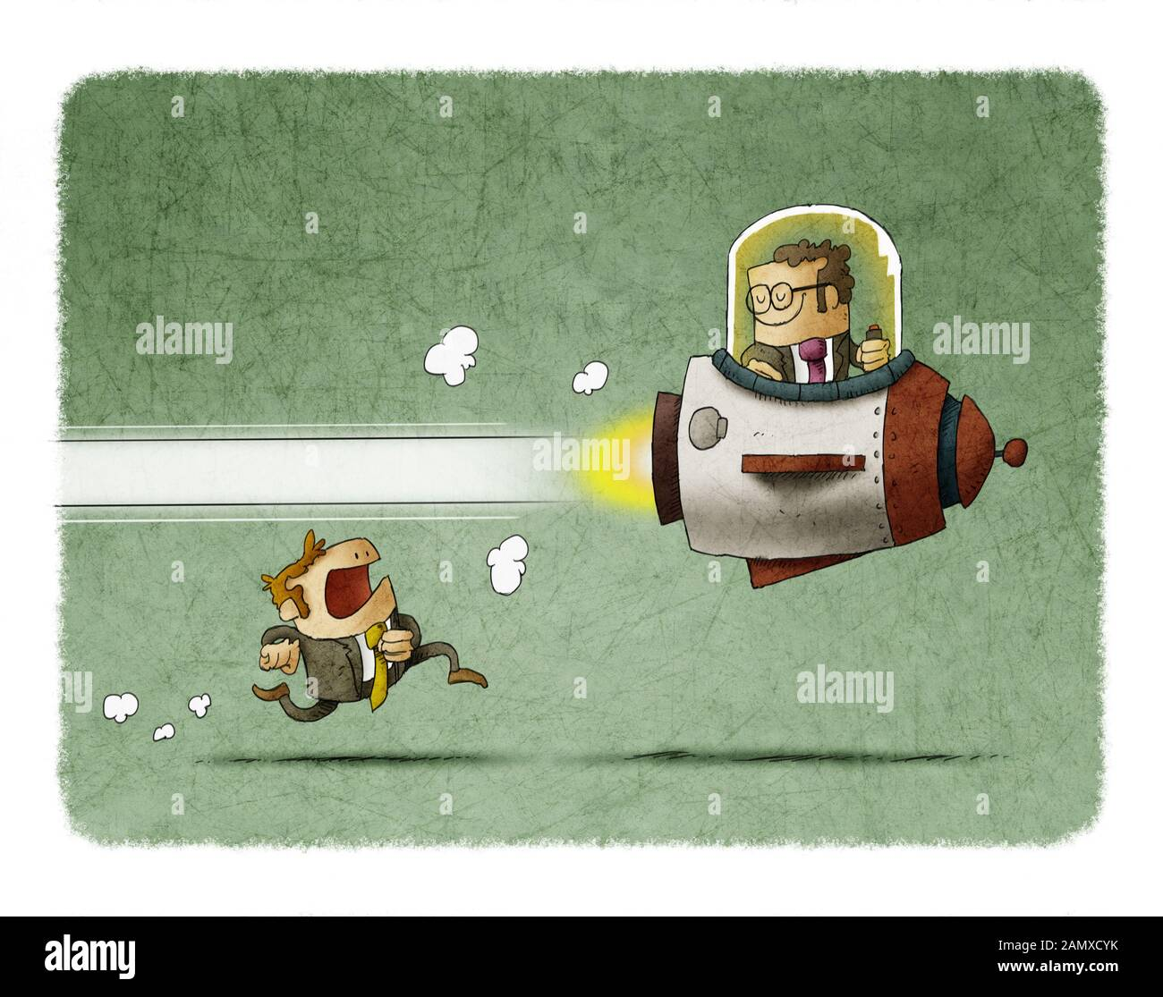 Motivation Cartoon High Resolution Stock Photography And Images Alamy