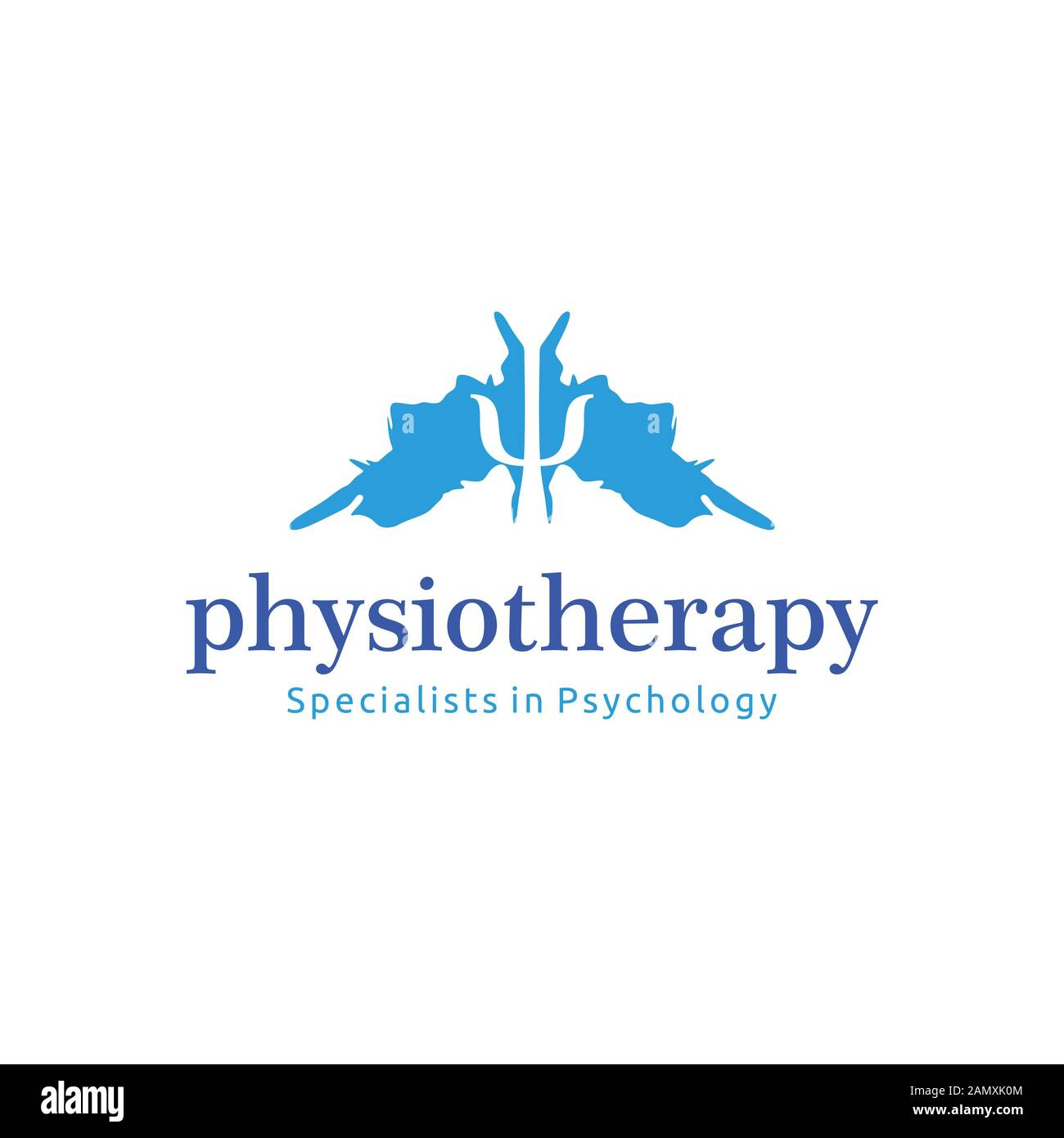 Physiotherapy Psychology Logo Ideas Inspiration Logo Design Template Vector Illustration Isolated On White Background Stock Vector Image Art Alamy