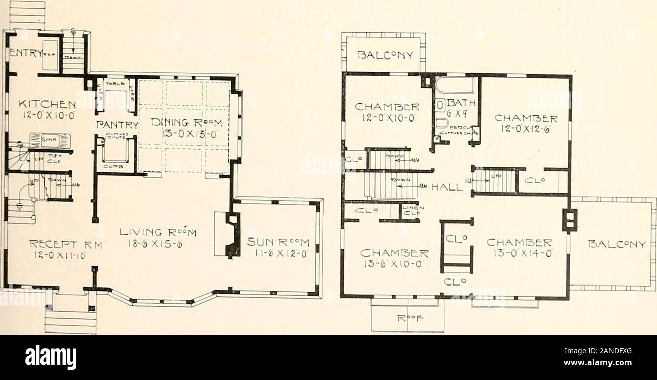 The Plan Book Of American Dwellings Being A Compilation Of Original Home Designs Showing Actual Photographic Exteriors And Floor Plans Of Moderately Priced Bungalows Cottages Residences An English Half Timber