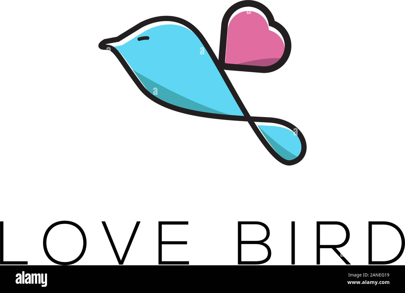 Get Logo Love Bird