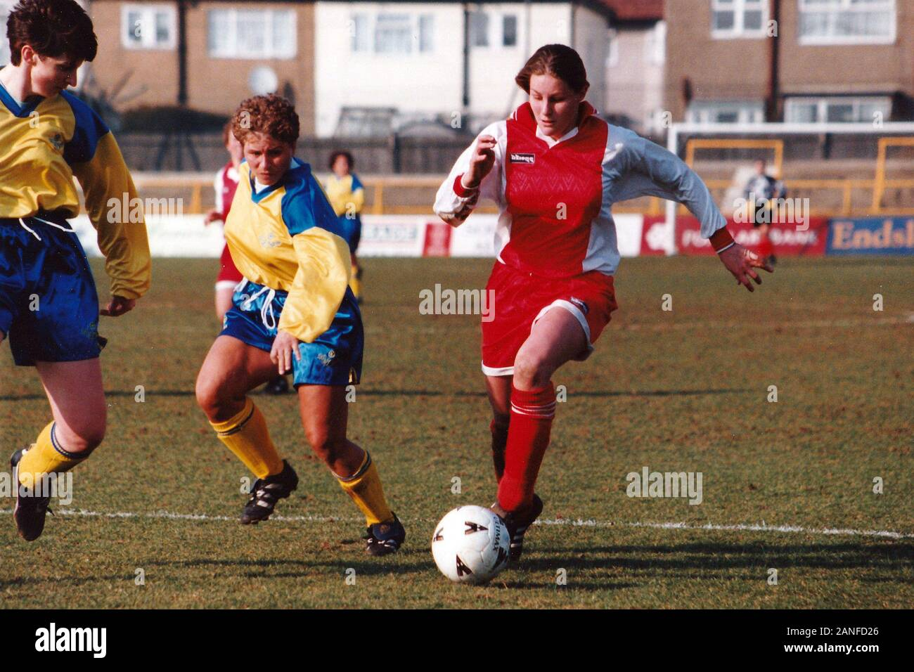 Kelly Smith of Wembley during Doncaster Belles vs Wembley Ladies, FA Women's Premier League Cup Final Football at Underhill, Barnet FC on 10th March 1 Stock Photo