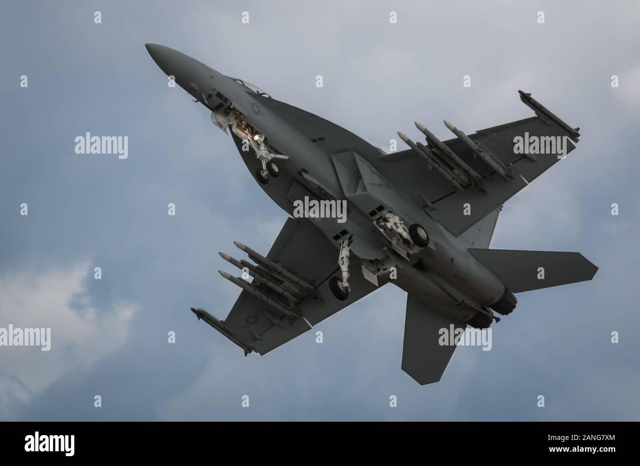 F18 Hornet Fighter Jet Stock Photo Alamy