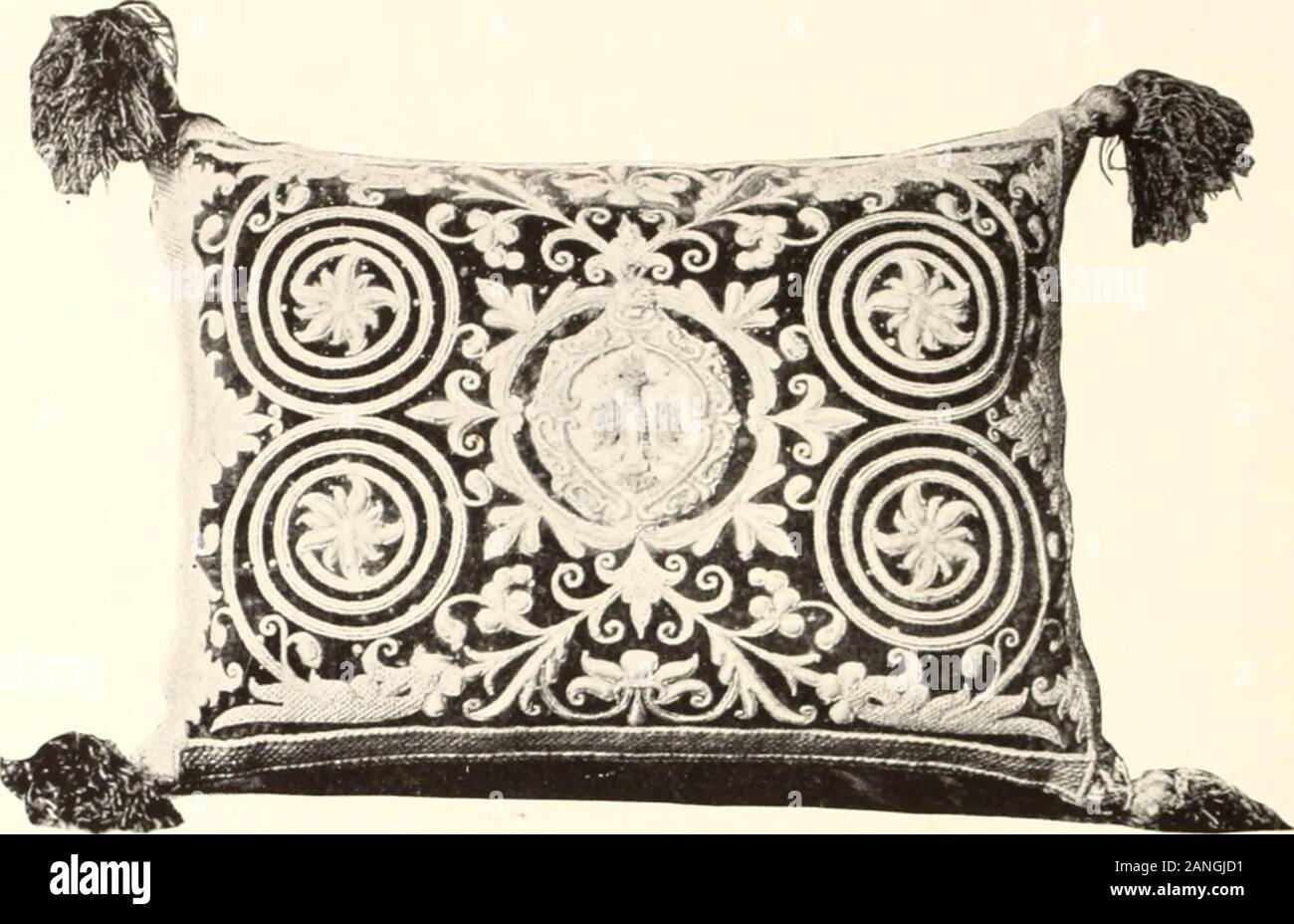 THREEE 18th Century Florentine  Hand Made Silk Tassels   Very Rare