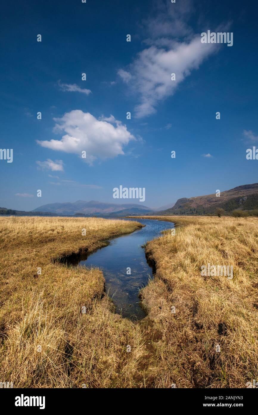 Lake District Image Stock Photo