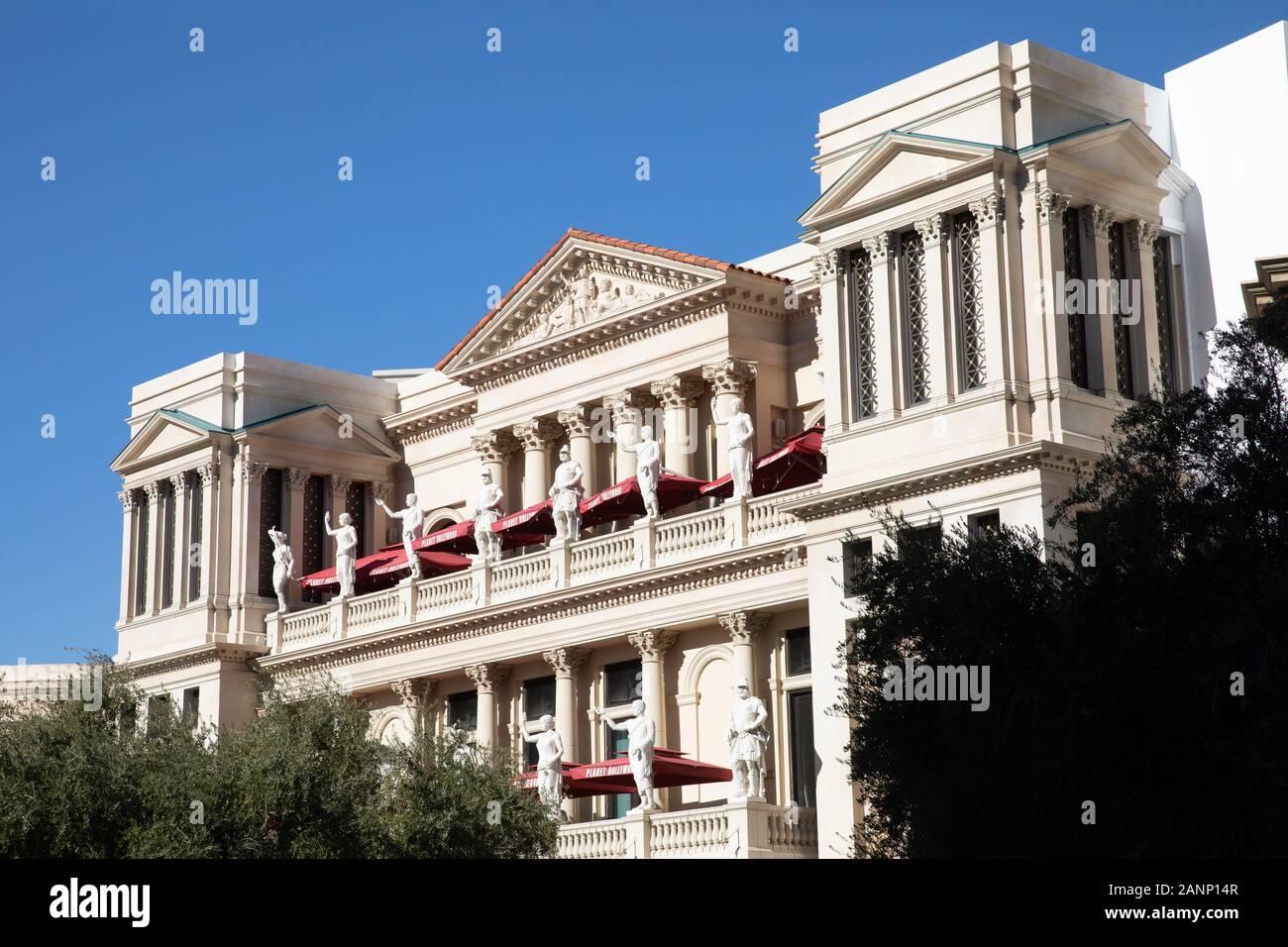 Caesers Palace Hotel in Las Vegas, Nevada, USA Stock Photo