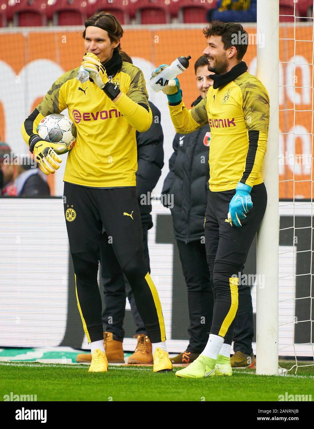 Augsburg, Germany. 18th Jan, 2020. Football Augsburg-Dortmund ...