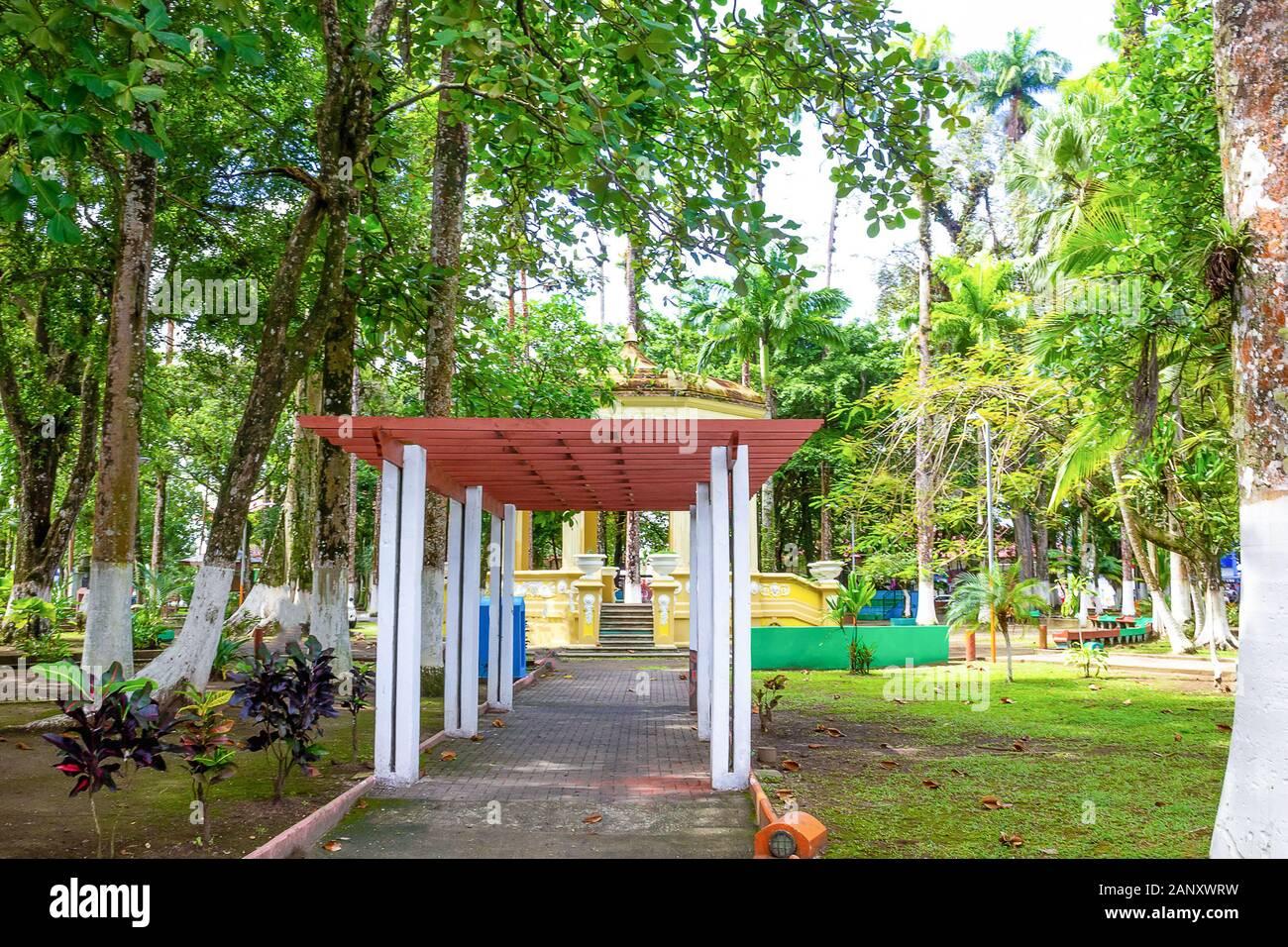 Parque Vargas City Park In Puerto Limon Costa Rica Stock Photo Alamy