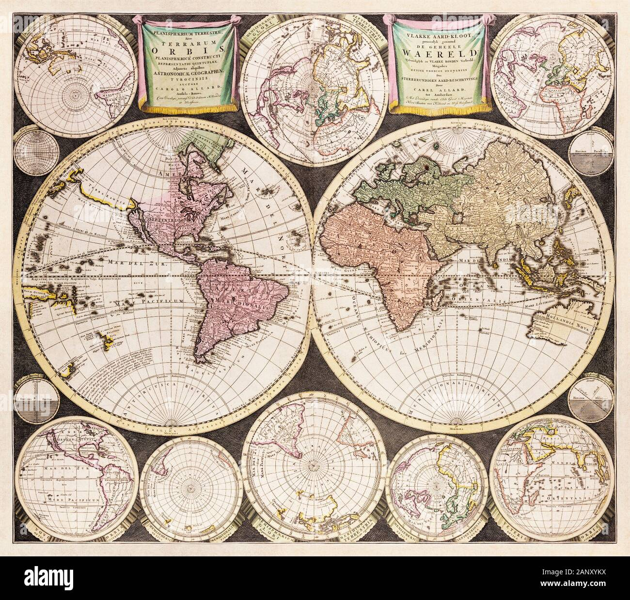 1646, 1675, 17, 17c, 17th, africa, america, american, amsterdam, ancient, antiquarian, antique, asia, atlas, book, cartographer, cartographic, cartography, century, chart, collect, collectable, colonialism, colonies, colony, continent, den, early, engraved, engraving, europe, exploration, explore, famous, geographic, geography, hand, handmade, historic, historical, history, independence, john, kaerius, keere, london, made, making, map, mapmaking, north, ocean, old, original, paper, parts, peter, petrus, pieter, pre, print, printed, prospect, published, rare, revolution, sea, settler, settlers, Stock Photo