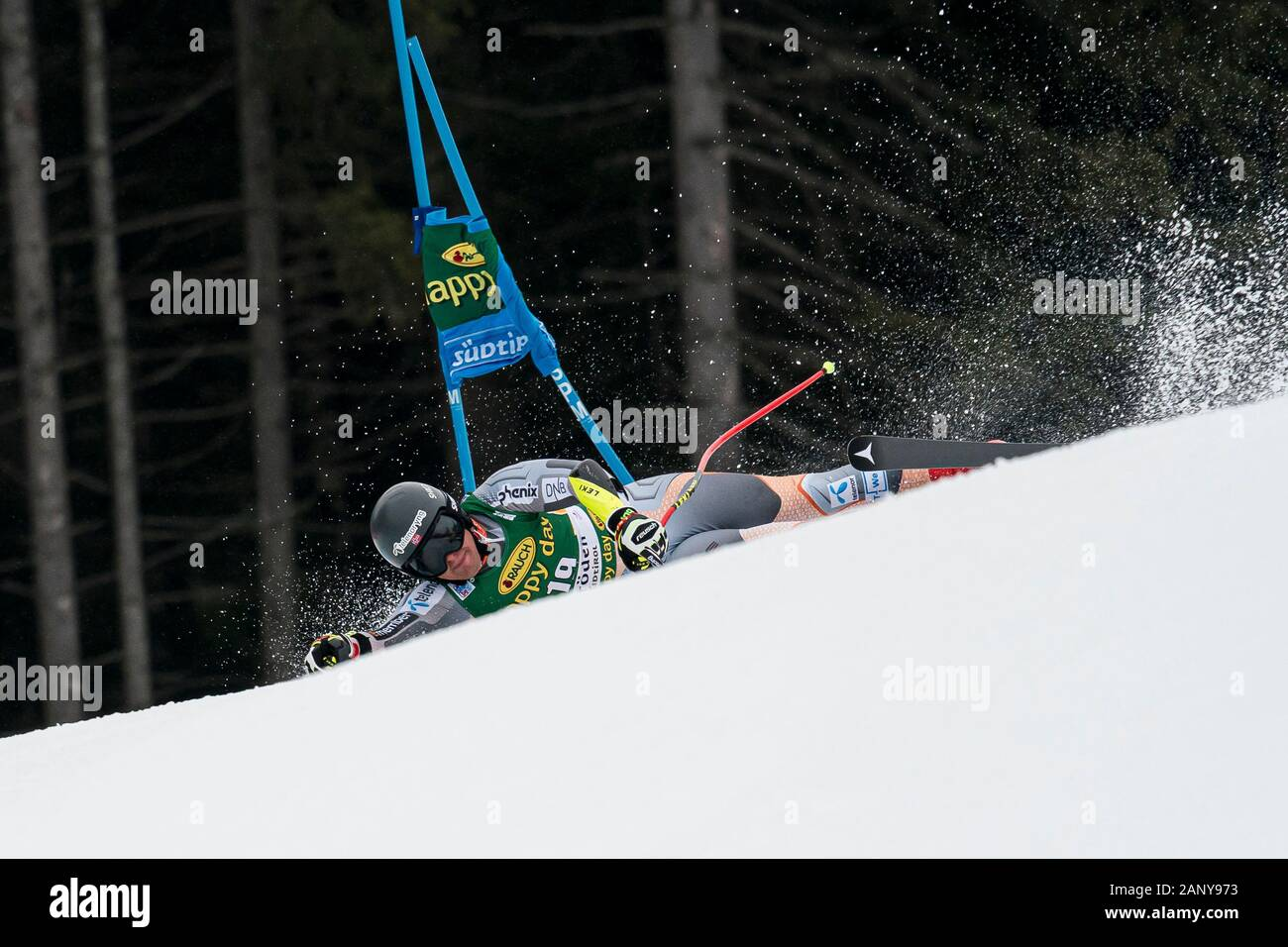 Val Gardena, Italy 20 December 2019. SEJERSTED Adrian Smiseth (Nor) competing in the Audi Fis Alpine Skiing World Cup Men's Super-G Race  on the Saslo Stock Photo