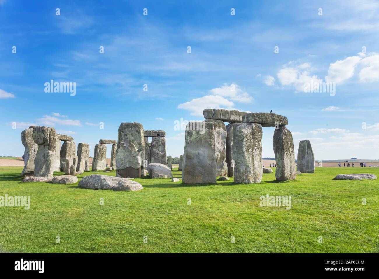 Stonehenge Wiltshire England Uk Stock Photo Alamy