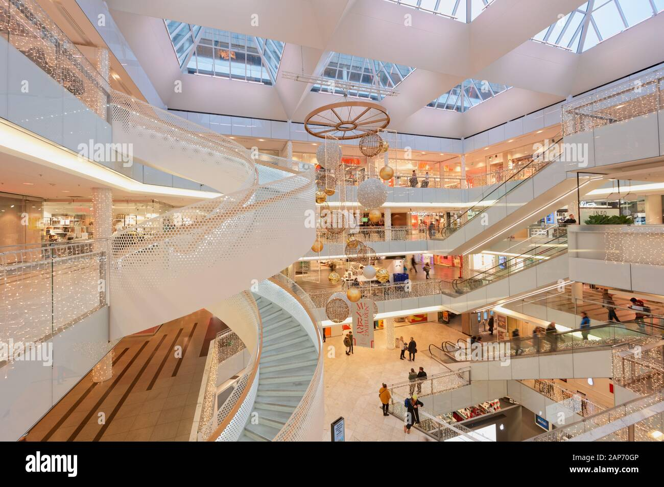 Christmas Shopping Forums 2020 Helsinki Shopping Center High Resolution Stock Photography and
