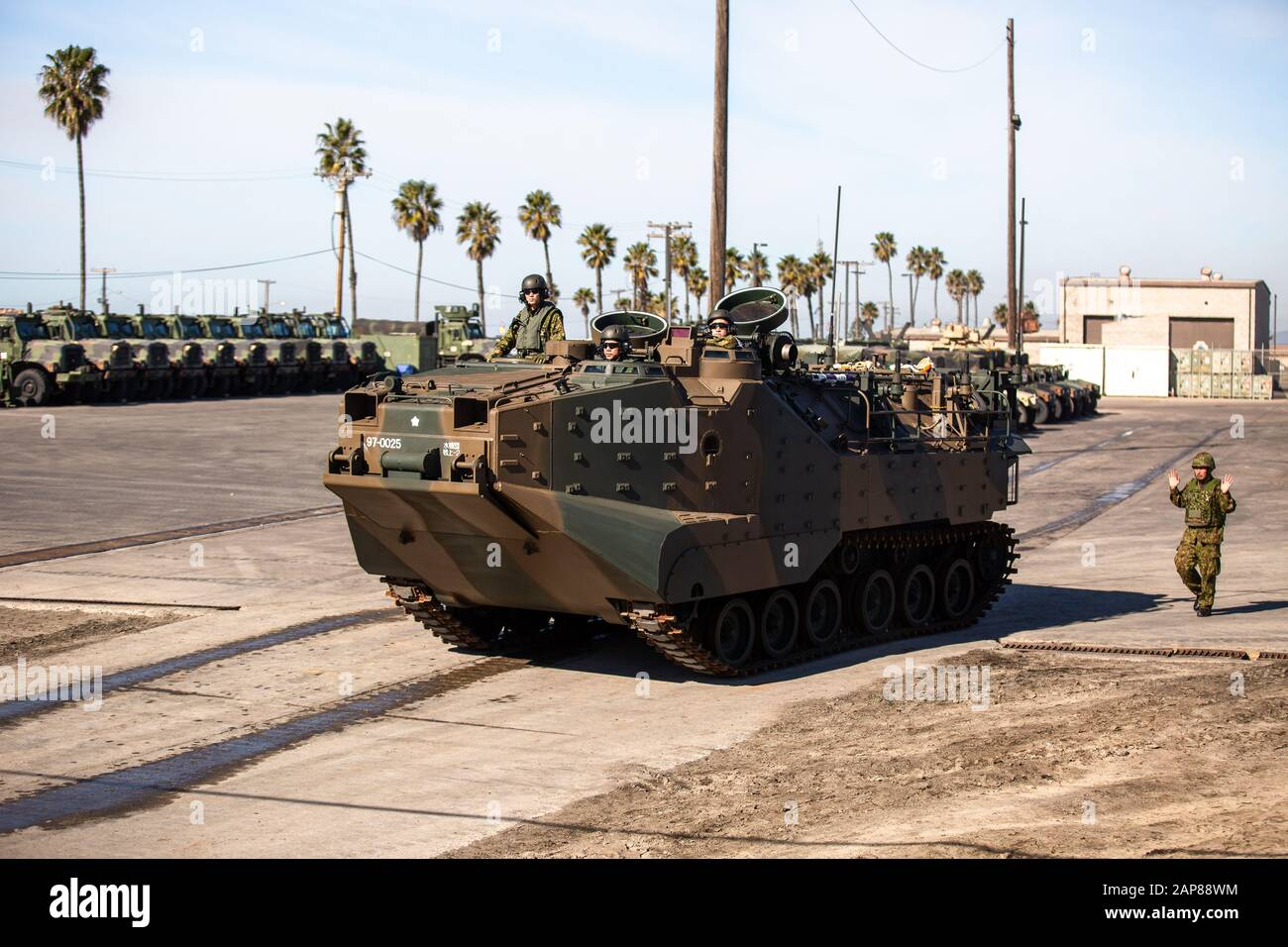 Japan Ground Self Defense Force Amphibious Assault Vehicle Stock