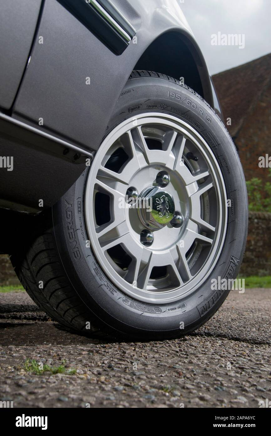 Old Peugeot Car Wheel High Resolution Stock Photography And Images Alamy