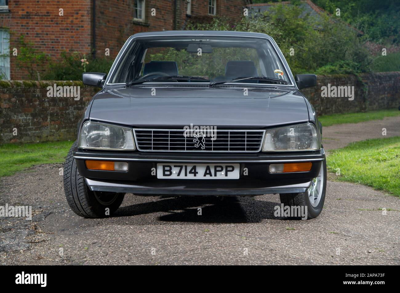 Peugeot Saloon High Resolution Stock Photography And Images Alamy
