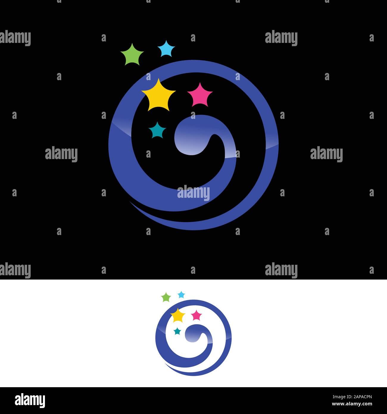 Dream Logo Design. Dream Logo Vector Template Stock Vector