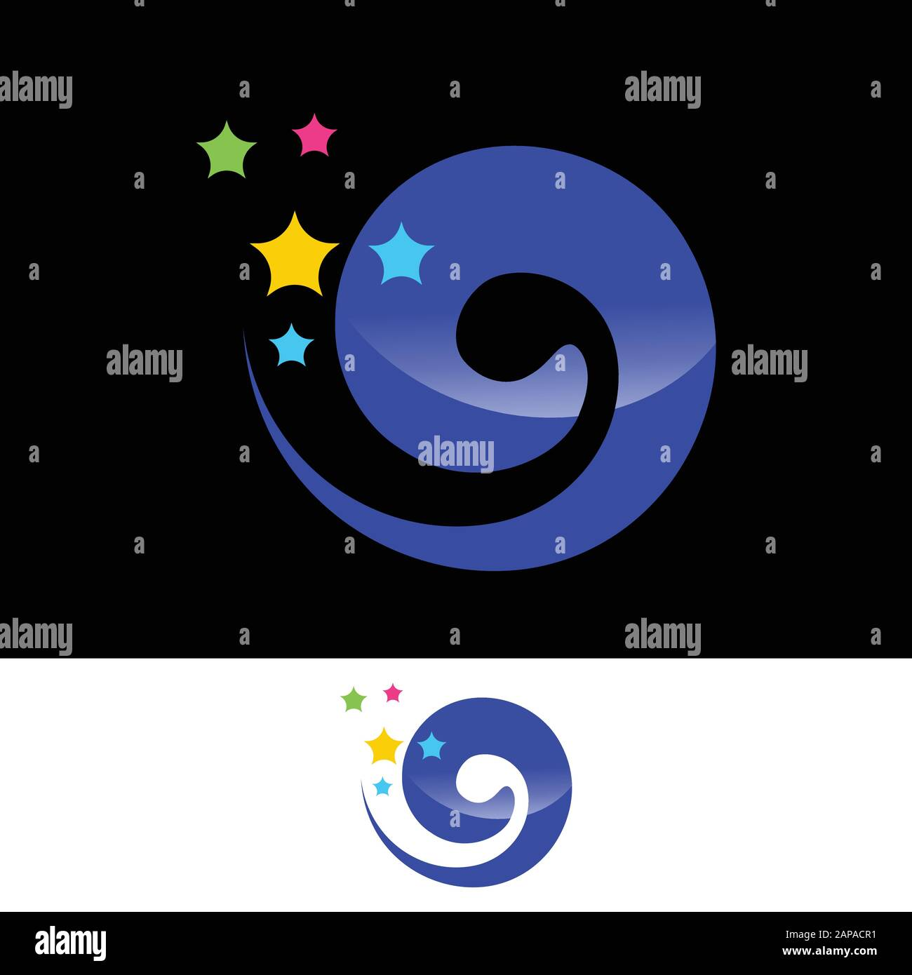 Dream Logo Design. Dream Logo Vector Template Stock Vector