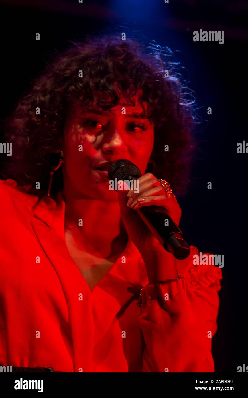 Faro Portugal 6th September 2019 Mayra Andrade Band Performs On Festival F A Big Festival On The City Of Faro Portugal Stock Photo Alamy