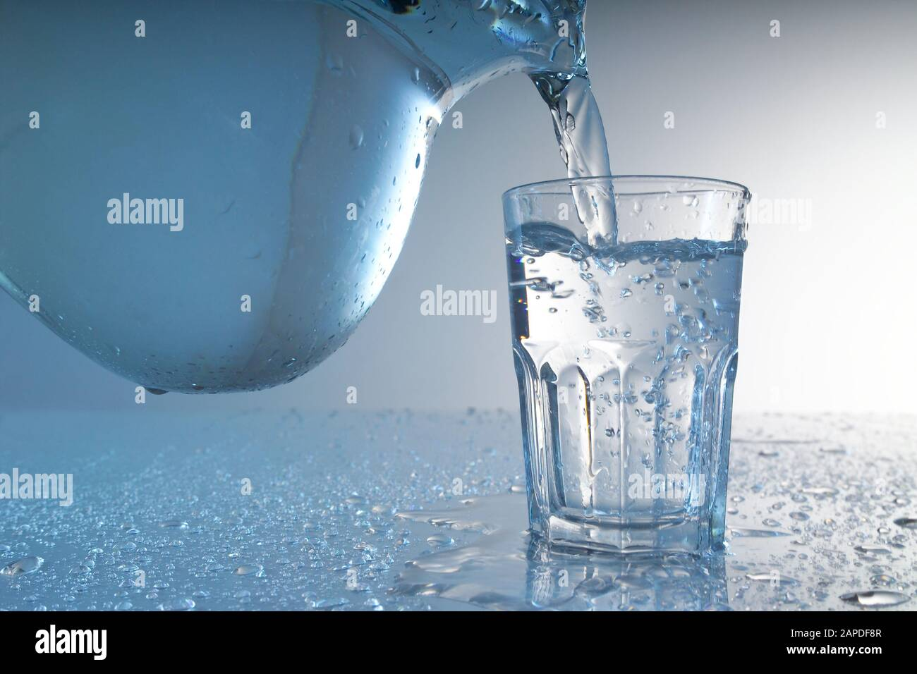 Wasser - Water Stock Photo