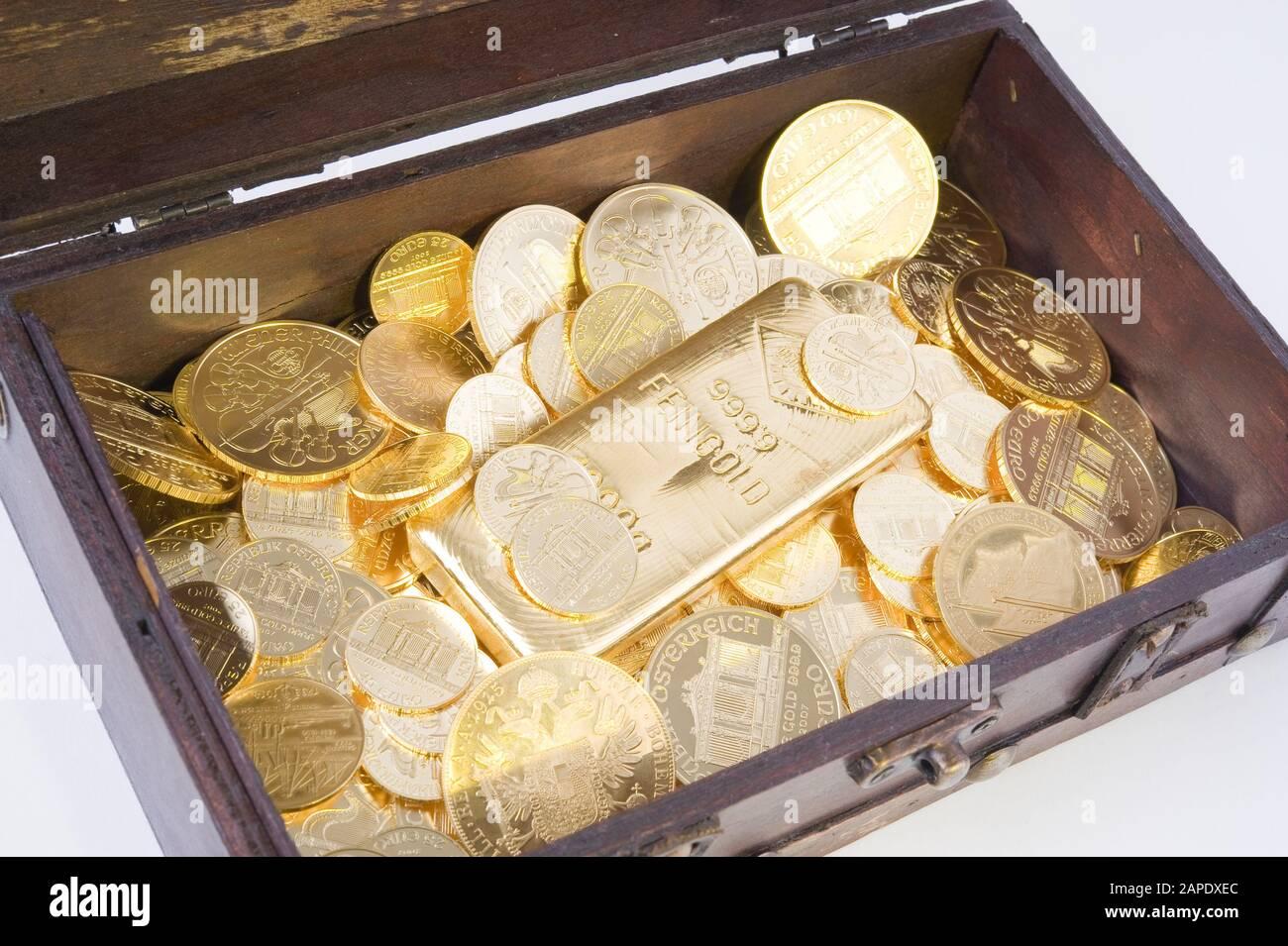 Schatztruhe - Treasure Chest Stock Photo
