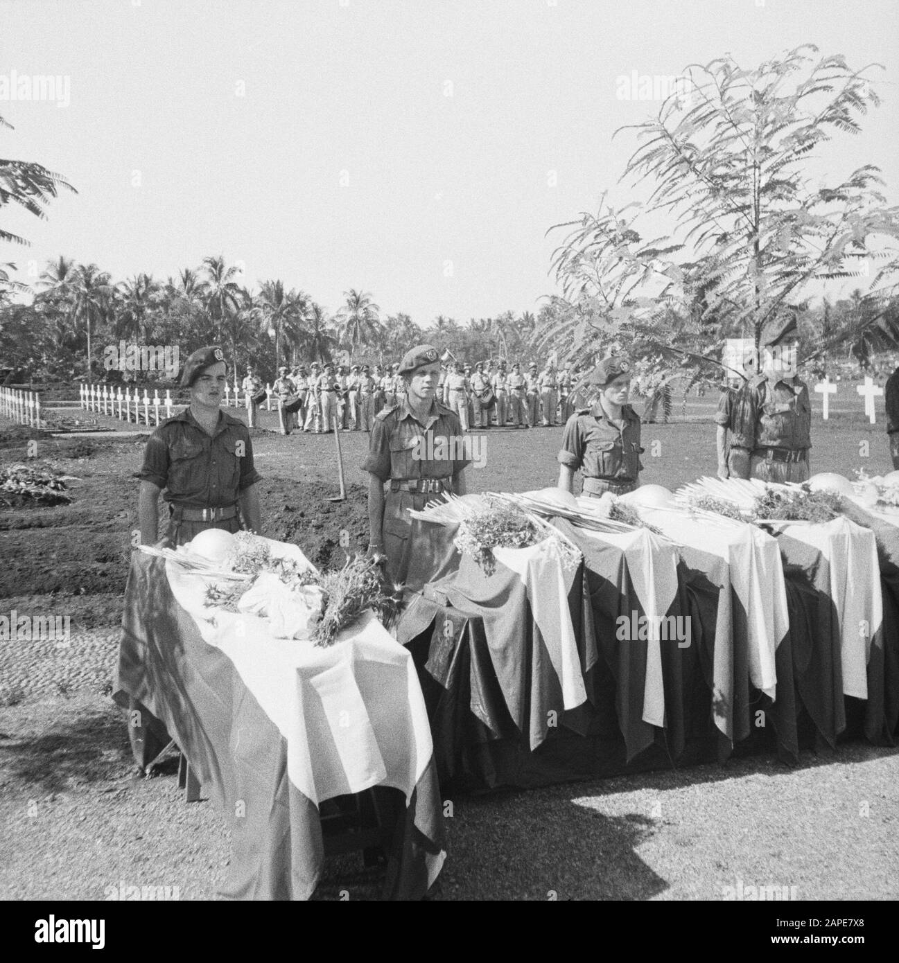 Re Burial Of War Victims At The Menteng Poeloeh Honorary Cemetery