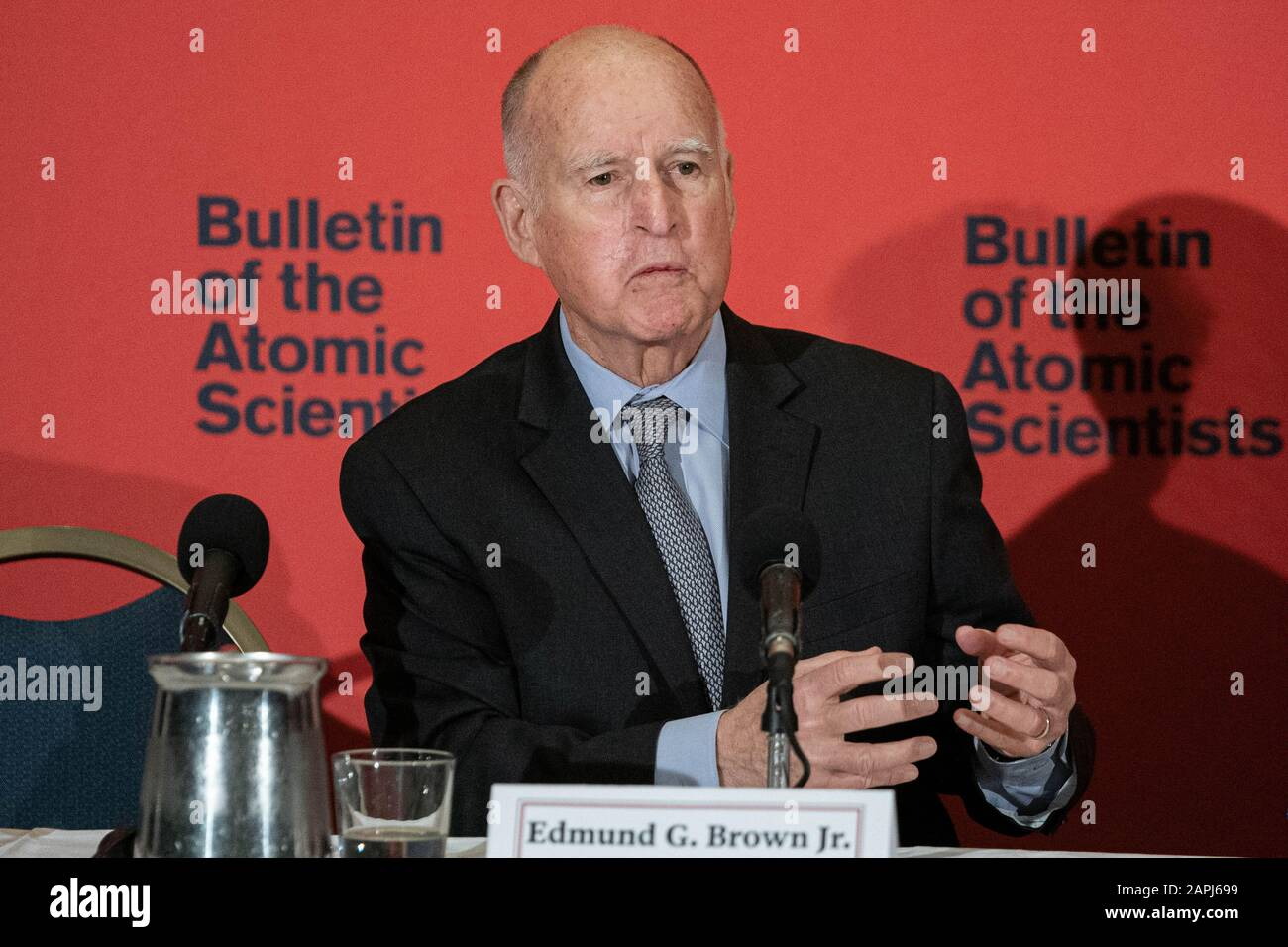 Washington United States 23rd Jan 2020 Executive Chair Bulletin Of The Atomic Scientists Former Governor State