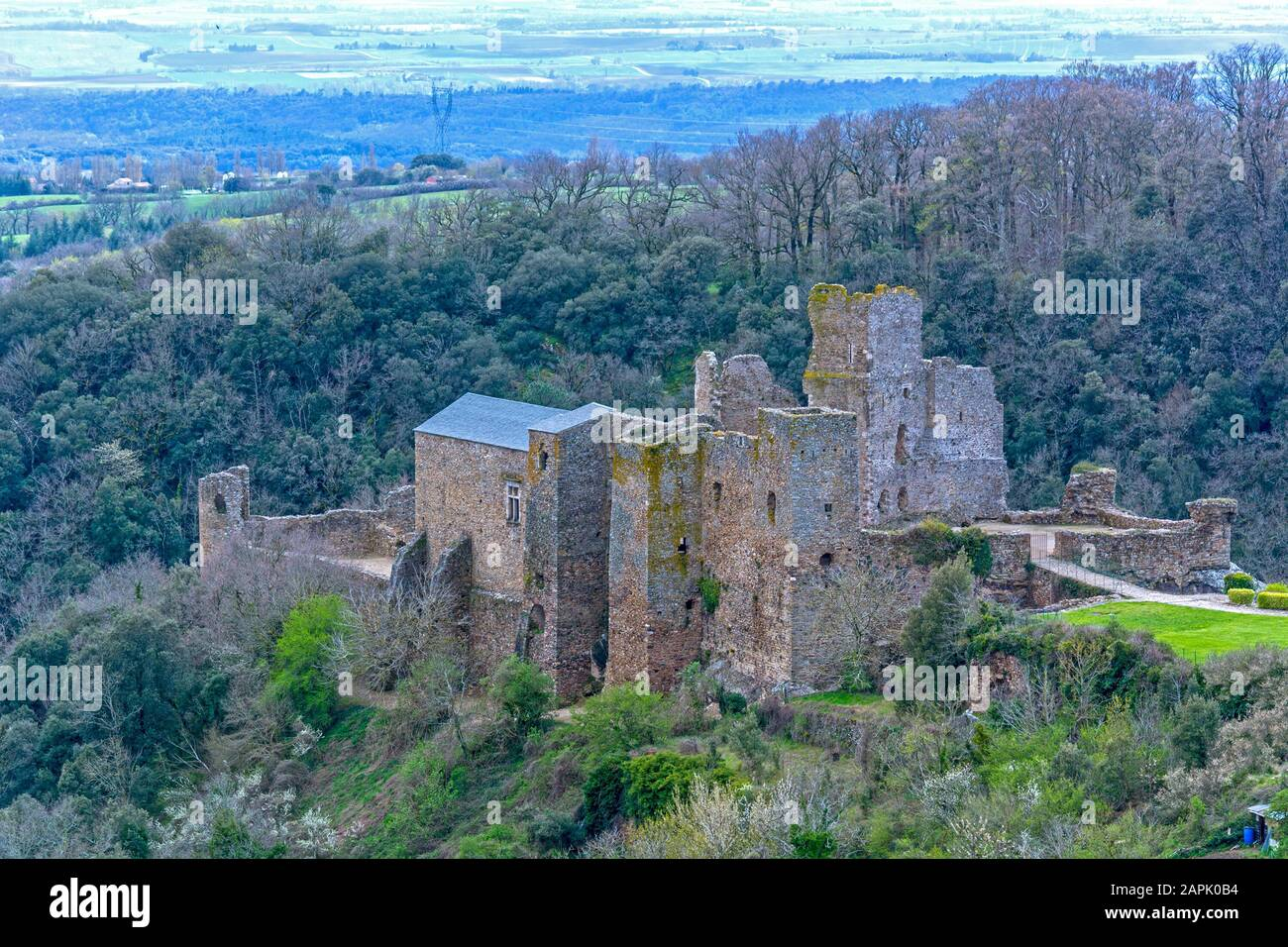 Cathar Castles High Resolution Stock Photography and Images   Alamy