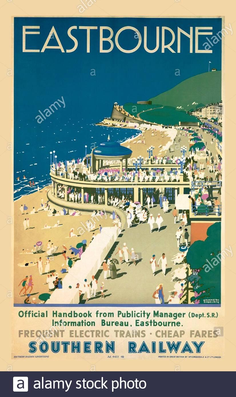 Vintage Travel Poster Stock Photo Alamy