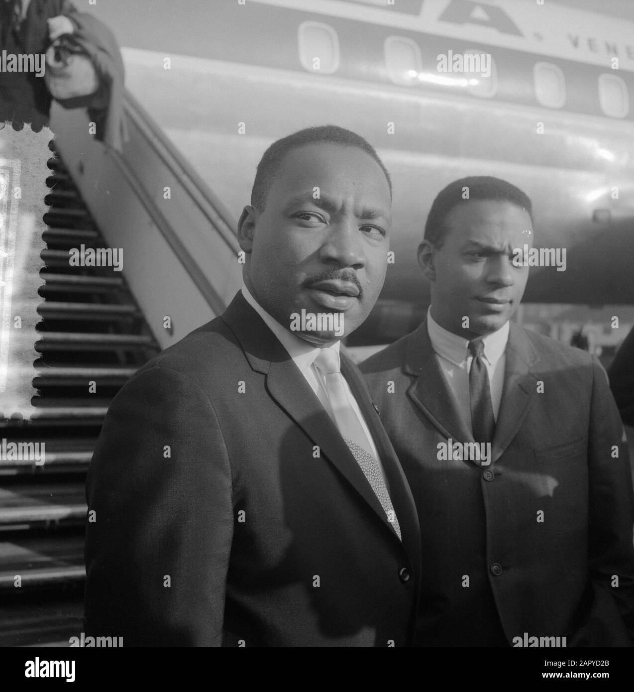 Dr. Martin Luther King Jr. and Harry Belafonte share a good