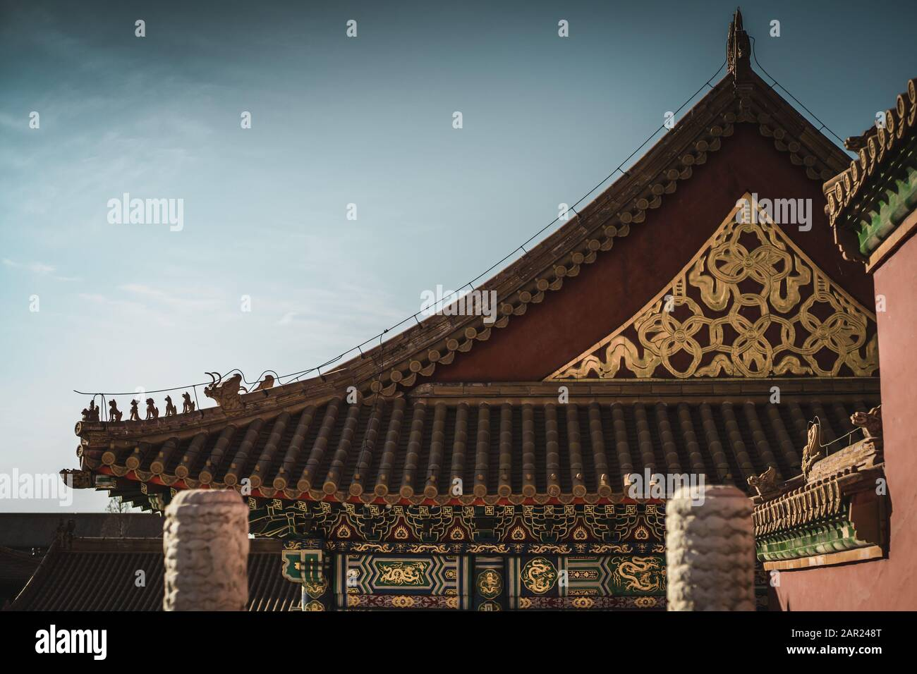 Chinese Pagoda Roof High Resolution Stock Photography And Images Alamy