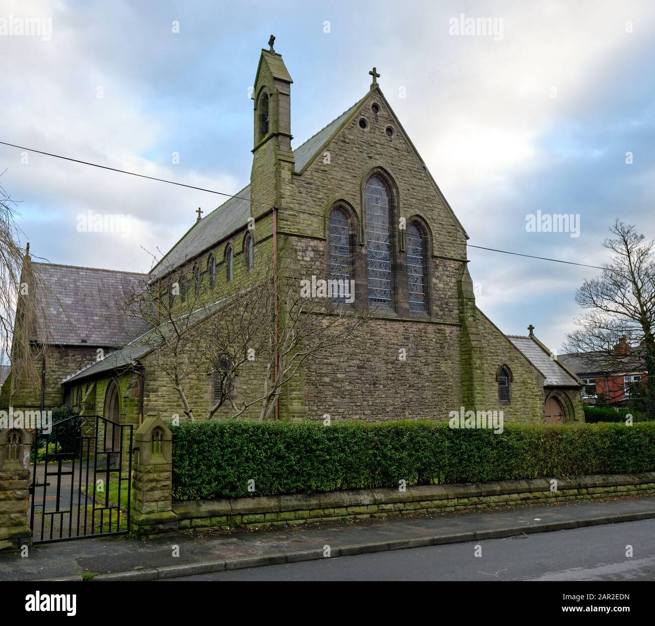 Chorley Lancashire England January 25 2020 St James Church Of England Church Chorley Consecrated In 1878 Stock Photo Alamy