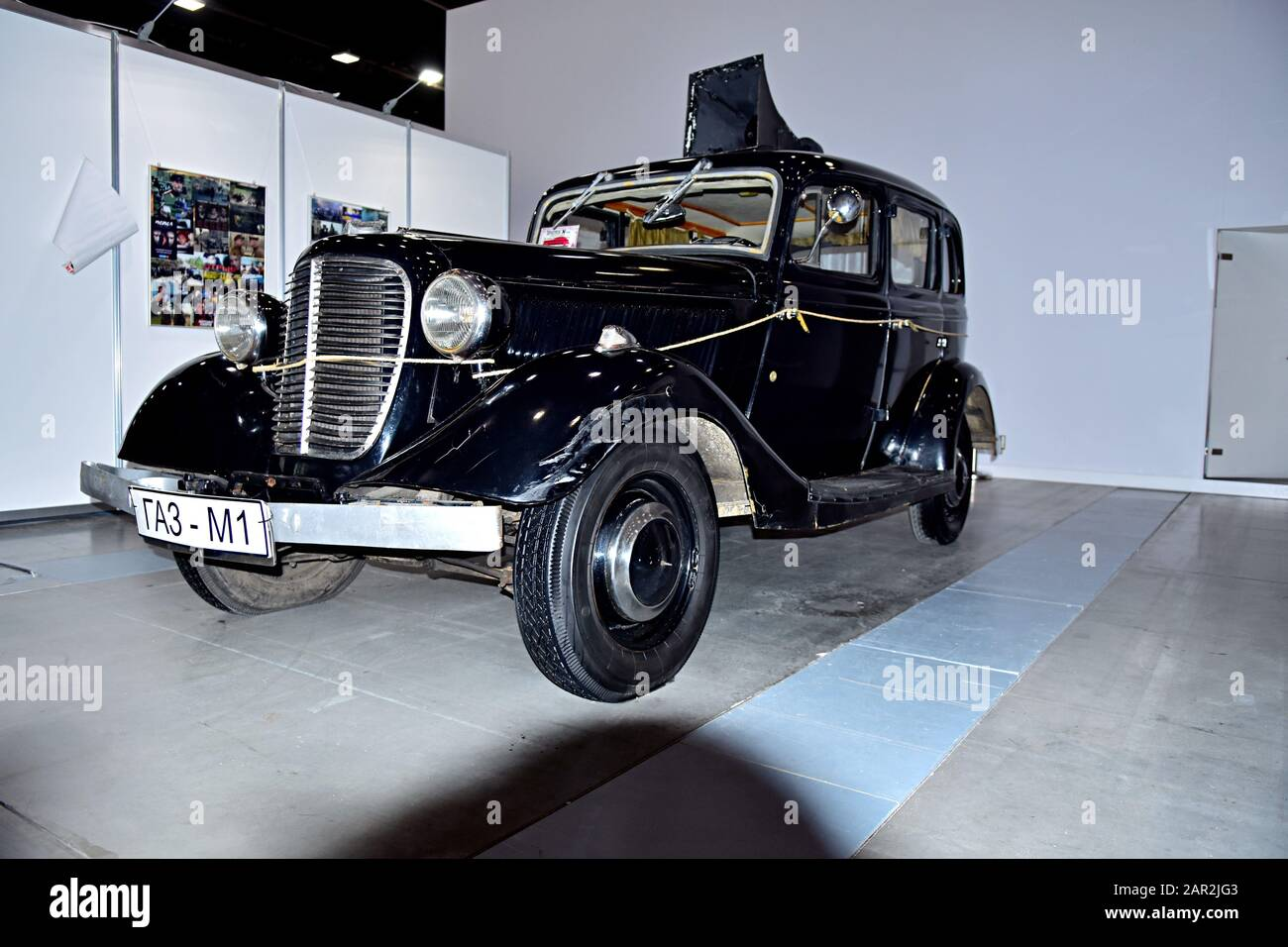 Old Russian car 1930 Stock Photo