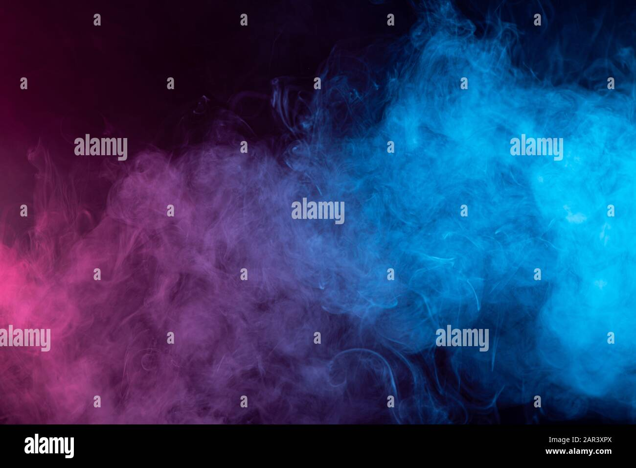 Toxic Movement Of Color Smoke Abstract On Black Background Fire Design Fantasy Blue And Red Smoke Abstract On Black Background Stock Photo Alamy