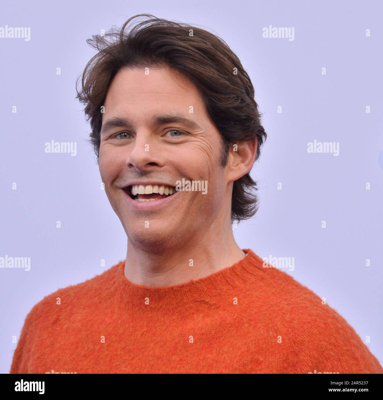 Los Angeles United States 26th Jan 2020 Cast Member James Marsden Attends The Sonic The Hedgehog Family Day Event On The Paramount Pictures Lot In Los Angeles On Saturday January 25 2020
