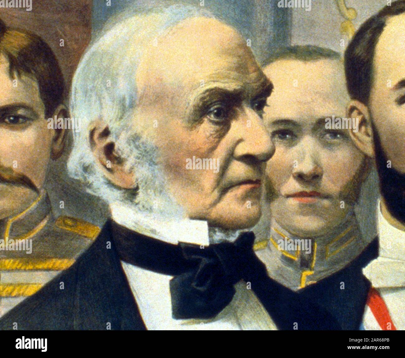 WILLIAM EWART GLADSTONE 1894 PORTRAIT BRITISH STATESMAN MINISTER HISTORY