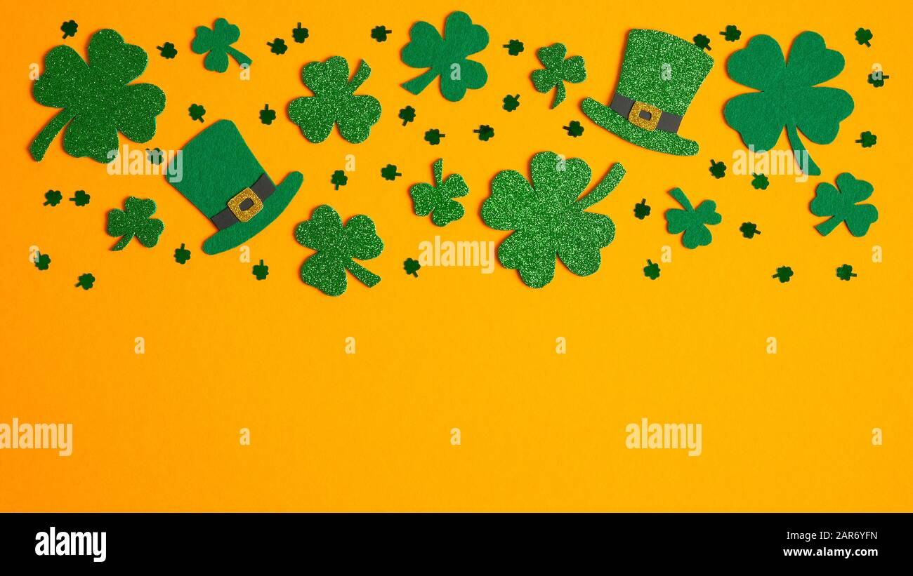 It is a picture of Four Leaf Clover Printable Template throughout small