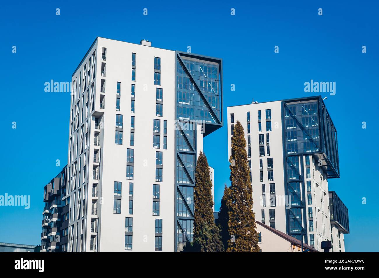 New Multistorey Office Residential Buildings Two Modern Houses Contemporary Architecture Design Exterior Stock Photo Alamy,Web Development And Design Foundations With Html5 8th Edition